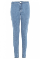 Quiz Mid Blue High Waist Skinny Jeans