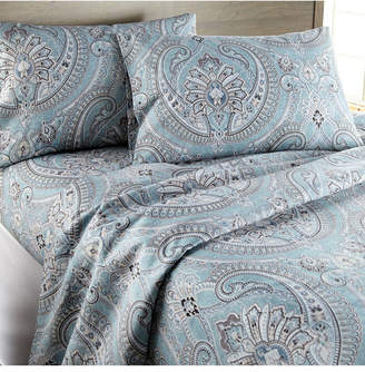 Southshore Fine Linens Pure Melody Classic Paisley Sheet Set, Full Bedding