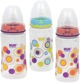 NUK Silicone Spout Bottle - Dots - 10 oz - 3 Pk - Girl