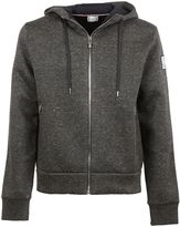 Moncler Gamme Bleu Grey Hooded Jacket
