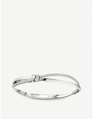 Chaumet Liens Séduction 18ct white gold and diamond bracelet