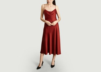 Tara Jarmon Satin Slip Dress - 38