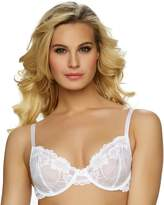 Apt. 9 Plus Size Bra: Floral Lace Bra - Women's
