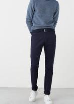 MANGO MAN Slim-Fit Garment-Dyed Chinos