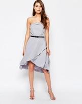 Little Mistress Embellished Bandeau Dress
