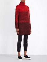 Rag & Bone Melina flecked turtleneck knitted dress