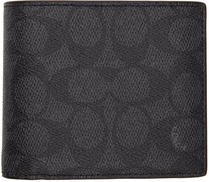 Coach 1941 Grey Signature 3-In-1 Wallet
