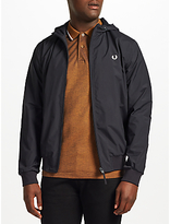 Fred Perry Hooded Brentham Jacket, Navy