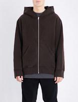 Yeezy Zip up cotton hoody