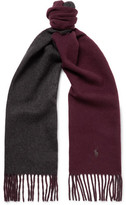 Polo Ralph Lauren Reversible Virgin Wool-Blend Scarf