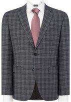 HUGO Jeffery Regular Check Two-Piece Suit Jacket