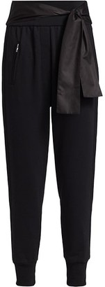 3.1 Phillip Lim French Terry Satin Tie Joggers