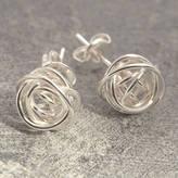 Otis Jaxon Silver Jewellery Nest Stud Sterling Silver Earrings