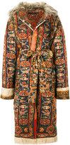 Maurizio Pecoraro belted carpet coat