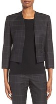 BOSS Petite Women's Jianne Crop Open Front Jacket