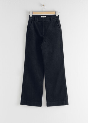 And other stories Corduroy Flared Trousers