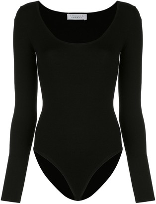 Gabriela Hearst Emily fitted bodysuit