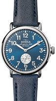 Shinola Runwell 41 Men's Blue Stainless Steel Strap Watch