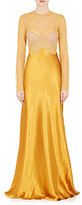 Nina Ricci Women's Lace & Charmeuse Gown