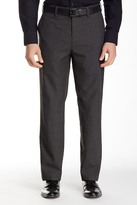 "Louis Raphael Brushed Micro Houndstooth Tailored Modern Fit Pant - 30-34"" Inseam"