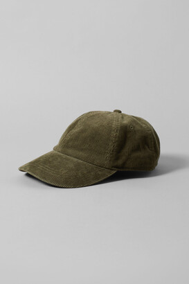 Weekday Cord Cap - Green