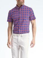 Banana Republic Grant Slim-Fit Short-Sleeve Custom-Wash Shirt