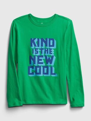 Gap Kids Kindness Graphic T-Shirt
