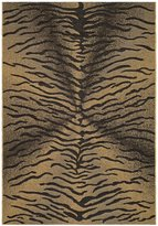 "Safavieh Courtyard Collection CY6953-46 Black and Natural Indoor/ Outdoor Area Rug, 4 feet by 5 feet 7 inches (4' x 5'7"")"