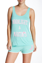 Junk Food Clothing Moonlight & Martinis Sleep Tank