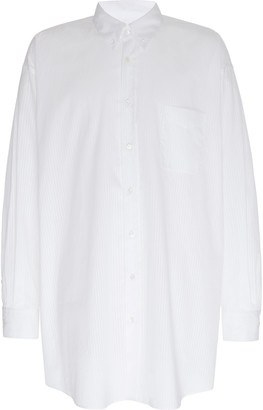 Maison Margiela Oversized Cotton-Poplin Shirt