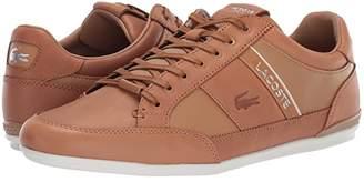 Lacoste Chaymon Premium 319 1 U (Black/Dark Grey) Men's Shoes