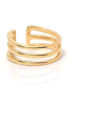 Coco Mango Jewellery L U X E | Bali 18K Gold Trio Ring