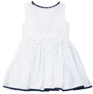 Isabel Garreton Little Girl's & Girl's Dotted Ruffle Dress