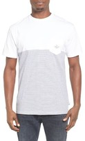 Quiksilver Men's Half Mast Stripe Pocket T-Shirt