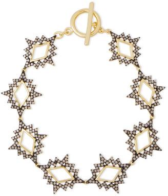 Noir Gold-tone Stone Bracelet