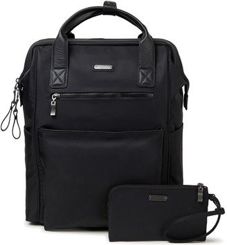Baggallini Nylon Soho Backpack with Wristlet