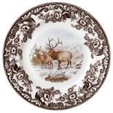 Spode Woodland American Wildlife Elk Dinner Plate by