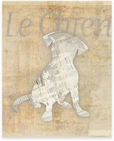 Le Chien Gallery Wrapped Canvas Wall Art