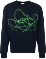 Carven embroidered logo sweatshirt