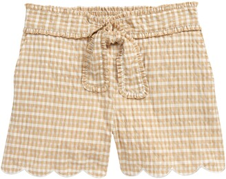 Scotch R'Belle Kids' Seersucker Tie Waist Shorts