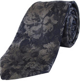 Nigel Lincoln Woven Floral Tie