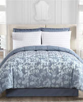Ellison First Asia Silhouette Floral 8-Pc. Queen Comforter Set Bedding