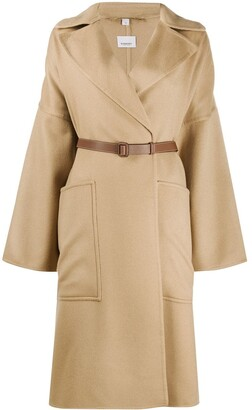 Burberry Belted Midi Coat