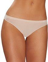 OnGossamer Women's Clean Lines Seamless Thong Panty