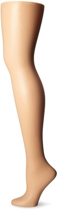 Leggs L'eggs Women's Silken Mist 2 Pair Control Top Silky Sheer Leg Panty Hose Black Mist