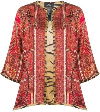 Etro Paisley Print Kimono
