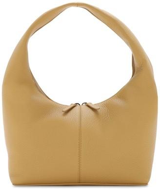 Frenzlauer Grained Leather Panier Shoulder Bag