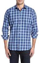 Tailorbyrd Men's Big & Tall Brownsville Windowpane Check Twill Sport Shirt