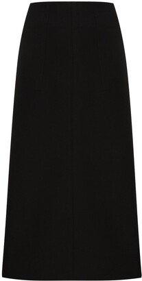 Moncler 1952 High-Waisted Midi Skirt