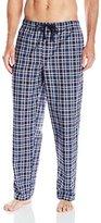 Perry Ellis Men's Woven Interlock Plaid Sleep Pant
